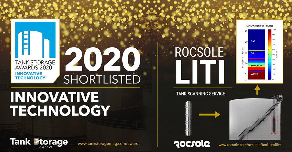 Rocsole has been shortlisted for Global Tank Storage Award in Innovative Technology category