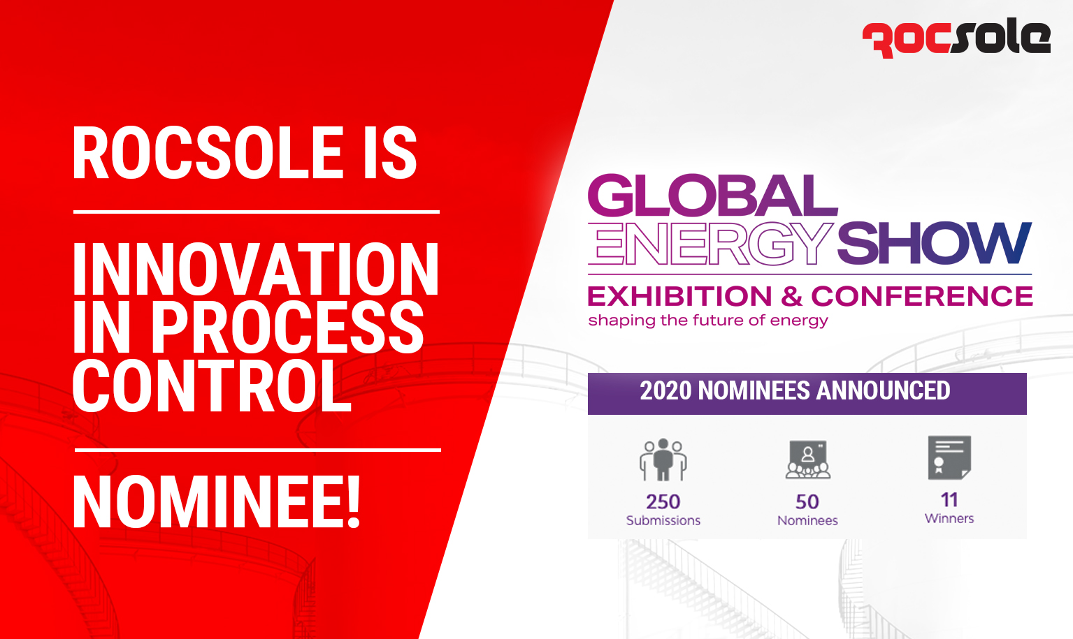 Rocsole Nominated at the Global Energy Awards